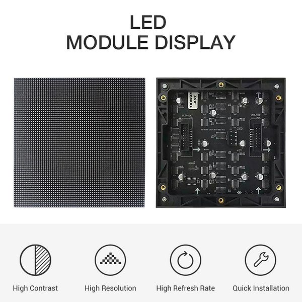 Volle Farbe HD P 1,25 Indoor LED Vorhang Display Fest LED TV Display Panel Videowand led-bildschirm für werbung