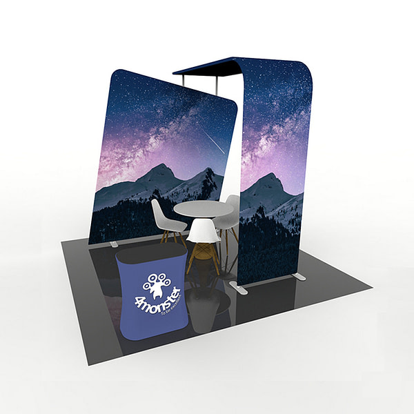 High Quality Advertising Trade Show Exhibition Booth Display Stands Backdrop exhibition pop up stands