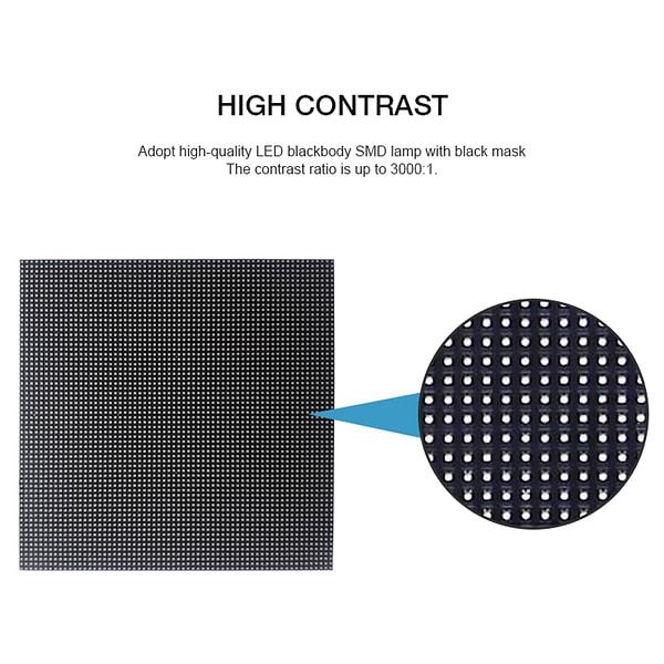 Hohe Auflösung HD SMD P 1,667 Pixel FÜHRTE Zeichen Modul Indoor LED Wand-Display Werbung LED-Display