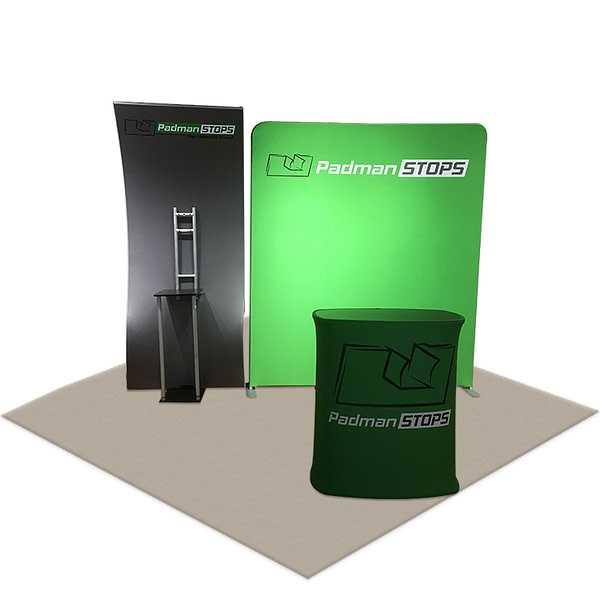 hot sale contractor 2x2 kiosk portable stands trade show booth display