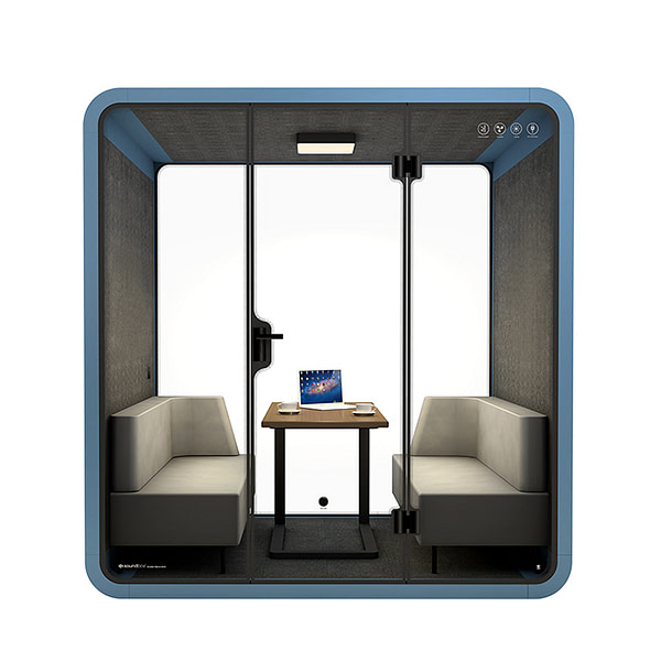 Office meeting room movable soundproof acoustic pod