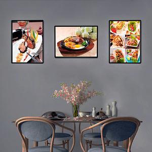Restaurants Menu Illumination Light Box LED Advertising Poster Frame Billboard Led Panel Photo Frame Advertising LED Light Boxes