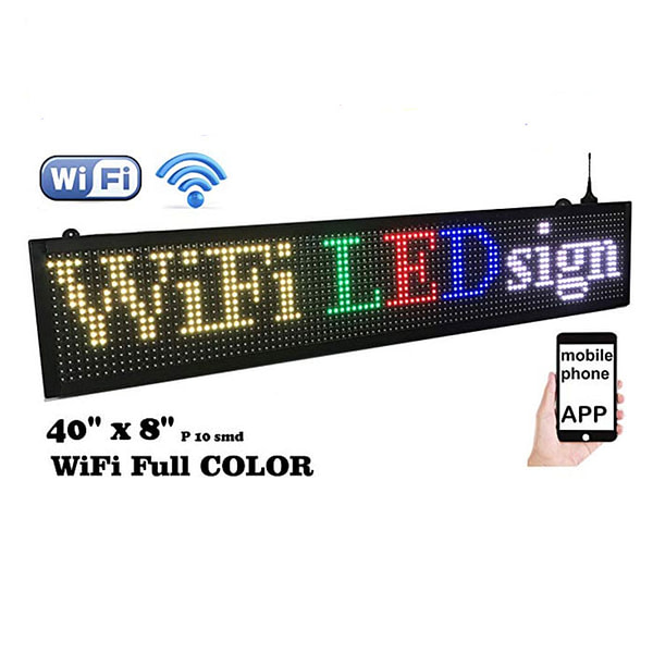 Outdoor banner RGB full color electronic led display