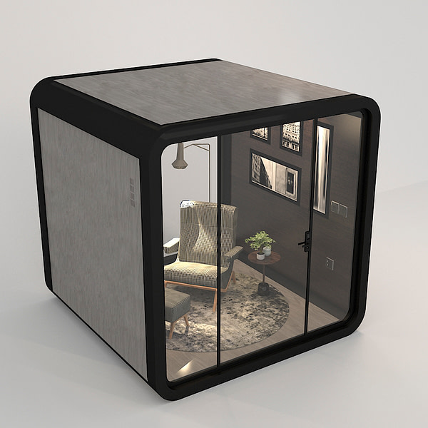Office phone pods easy installation soundproofing booth one Person private meeting room