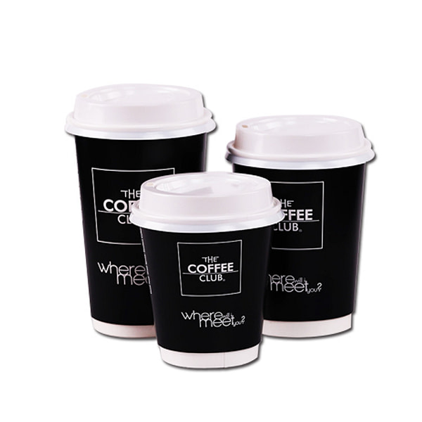 Professional Supplier Custom Printed Double Wall Paper Coffee Cup