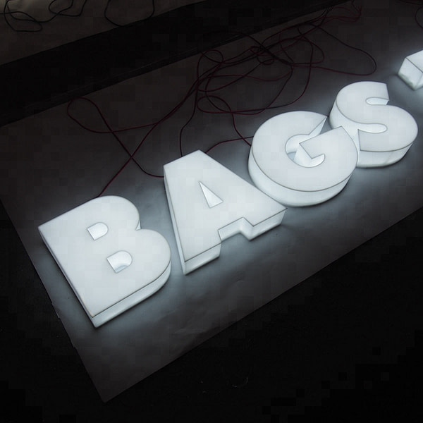 custom acrylic outdoor plastic signage advertising full-lit letters signboard for advertising use
