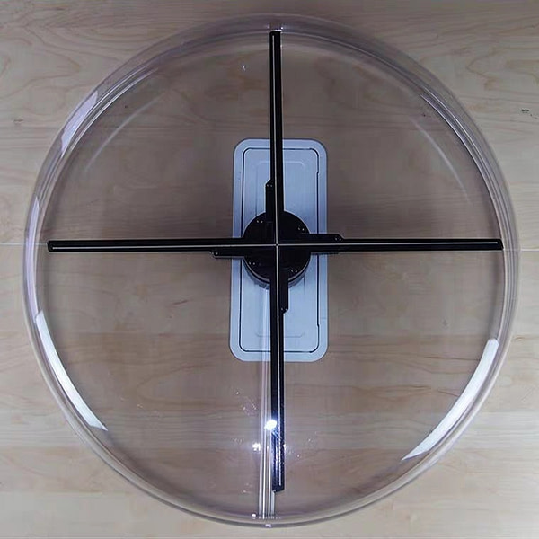 3D hologram Led fan 50cm 65cm 70cm 100cm led fan 3D hologram projector display adverting fan