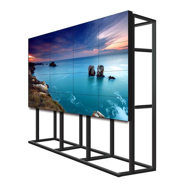 "Angepasst 2x2 3x3 46 ""lcd videowand DID werbung display 55 inch lcd video wand 0,88mm lünette für shopping mall und exhibiti"