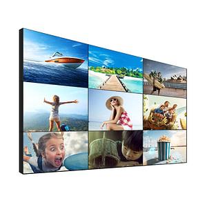 LCD video wall 49 inch 3.5mm DID bezel 3x3 2x2 types ultra narrow bezel monitor tv cctv room meeting room