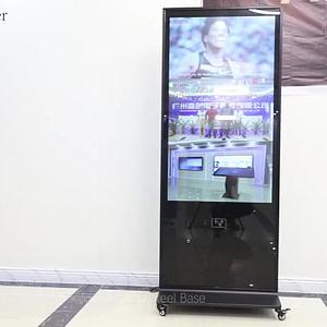 marketing electronic advertising equipment 55 inch digital signage display